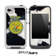 Cow Print FFA Skin for the iPhone 4/4s or 5 by TheSkinDudes, $9.99