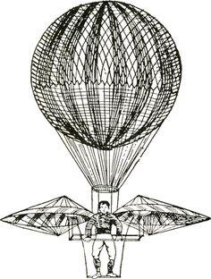 Vintage Images - Hot Air Balloons - Steampunk - The Graphics Fairy Clip Art Vintage, Vintage Artwork, Vintage Images, Steampunk Airship, Steampunk Cards, Steampunk Images, Vintage Compass, Graphics Fairy, Black N White Images
