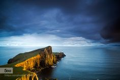 neist point by melchiorre_pizzitola  beautiful beauty blue clouds color landscape light natural nature ocean sea sky summer sun sunset tr