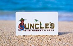 Uncle's Fish Market and Grill Gift Card -- A special product just for you. See it now! : Gift cards