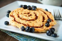 Cinnamon Bun Pancakes - EASY PEASY! - recipe