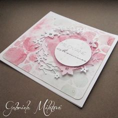 Gabi M. craftuje: CARDS Milované mamince & tutorial