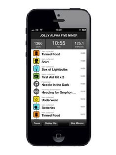 Odd Fitness Apps         - Burn fat by running from zombies.  Why not just let them eat the fat off you?