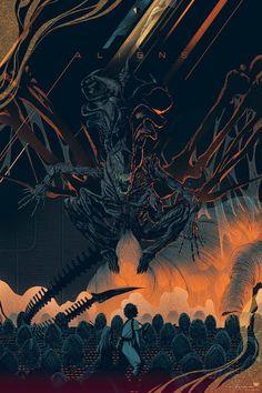 Aliens-Kevin-Tong-Mondo-Poster-Movie-Variant-Mondotees