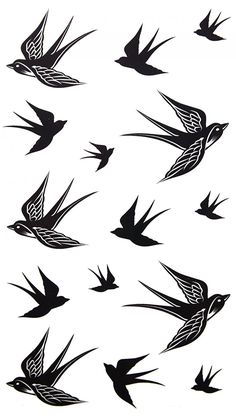 SPESTYLE waterproof non-toxic temporary tattoo stickersnew design new release temporary tattoo waterproof Swallow temporary tattoos * You can get additional details at the image link.