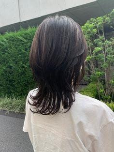 Hair Inspo, Hair Inspiration, Medium Hair Styles, Curly Hair Styles, Haircuts Straight Hair, Mullet Hairstyle, Asian Short Hair, Shot Hair Styles, Corte Y Color