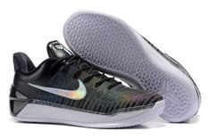 "official photos 60d76 f9f1e 2018 Nike Kobe A.D. ""Chameleon"" Black Metallic Silver-White Free Shipping  Jordan"