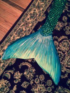 Swimmable Mermaid Tail handmade by DamselFin on Etsy
