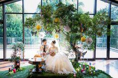 「今週も#weddingtbt (*^_^*)❤︎一度ふじーさんからリポストしたけど、もっかいポスト❤︎やっぱり高砂全体が写ってるこの写真が一番好きだなー✨ #ウェディングソムリエフォトコンテスト…」