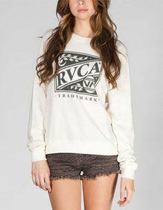 RVCA Crate Womens Sweatshirt
