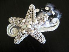 Bridesmaid Ariel Hair Piece