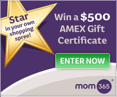 Enter to win a $500 Amex Gift Card! -->http://www.debtfreespending.com/?p=66054