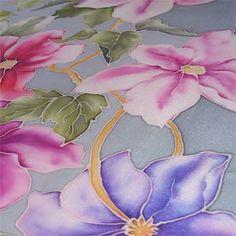 Arte de pintura en seda My Silky Way: Pañuelos de seda pintados a mano