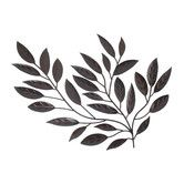 Found it at Wayfair - Forged Metal Leaves Sculpture Wall Decor