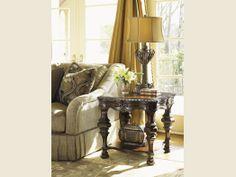 """Florentino"" Bianco End Table - Lexington Home Brands"
