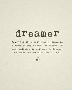 quotes about dreams - Google Search