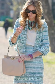 I love the Tory Burch. The blue is amazing.