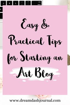 How to start an art blog, no technical skills needed! How to market your art with an art blog or art website and make more money an an artist. #artmarketing #artblog #startablog #artbusiness