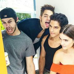Dylan O'Brien. Dylan Sprayberry. Tyler Posey Shelley Henning