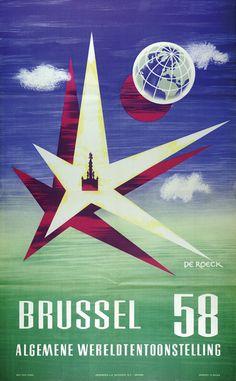 Expo Brussel 1958 #ExpoVintage #EUEXPO2015 #ExpoVintage