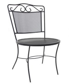 Wrought iron chairs Wrought Iron Chairs, Bistro Chairs, Outdoor Living, Gardening, Projects, Furniture, Home Decor, Chairs, Log Projects