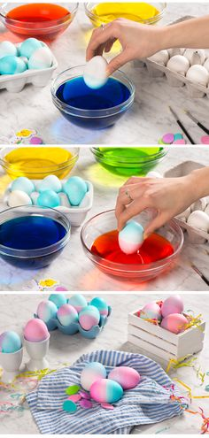 It's that time of year! The Easter Bunny is about to make his rounds. Have you decorated your Easter eggs yet? Get the whole family involved with these easy steps to Easter Egg decorating.