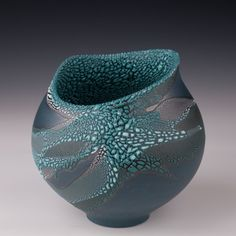 """Altered Vessel by Mary Fox : 71/2"""" T x 71/2"""" W"""