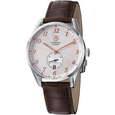 TAG Heuer Men's WAS2112.FC6181 Carrera Silver Dial Brown Leather Strap Watch TAG Heuer,http://www.amazon.com/dp/B00685PFUQ/ref=cm_sw_r_pi_dp_ZEGktb0QPZ2PM29W
