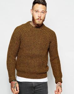 Levi's Vintage Clothing Crew Jumper Ribbed Fisherman Knit