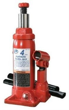 4 Ton Bottle Jack by ATD Tools. $36.95. ATD-73814-Ton Heavy-Duty Hydraulic Side Pump Bottle JackHydraulic system is protected from internal damage by a patented bypass mechanismMachined and polished cylinders with die-cut threads provide non-abrasive leak-free durable performanceFabricated from hard-cast steel with heat-treated critical stress areasUnique cross-type forged release valve assures positive controlA wide rugged base provides stability and strengthJack can be used in ...