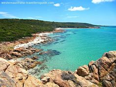 The view from the top of Castle Rock on the Meelup Trail - Dunsborough, Western Australia