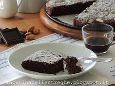 La cucina delle streghe: Torta Caprese Desserts, Food, Tailgate Desserts, Deserts, Essen, Postres, Meals, Dessert, Yemek