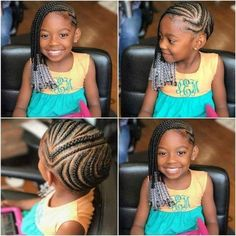 30 Cute and Easy Natural Hairstyle Ideas For Toddlers - Little girl hairstyles - Lil Girl Hairstyles, Black Kids Hairstyles, Natural Hairstyles For Kids, Kids Braided Hairstyles, Box Braids Hairstyles, Hairstyle Ideas, Little Girl Braids, Black Girl Braids, Braids For Kids