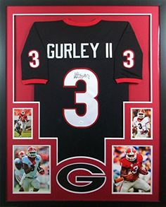7e6f5ebdf72 Todd Gurley Framed Jersey Signed JSA COA Autographed Georgia Bulldogs Rams  at Amazon's Sports Collectibles Store