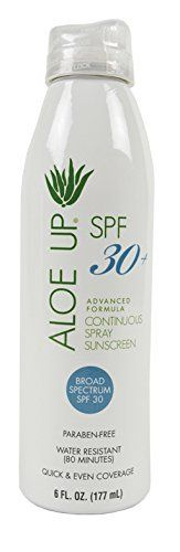 #beachaccessoriesstore Aloe Up Sun Skin Care Products White Collection SPF 30 Continuous Spray Sunscreen: We are now… #beachaccessoriesstore