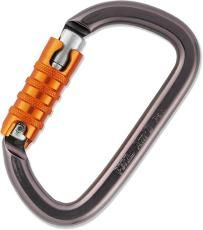 Autolocking carabiners guarantee the gate is always locked. (ie: Petzl Am'D Triact-Lock Autolocking Carabiner)