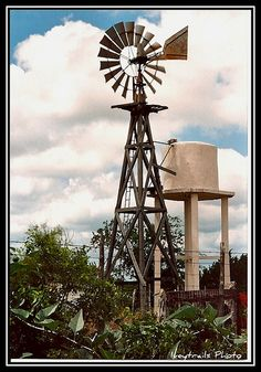 Using Solar Energy To Power Your Home Blowin' In The Wind, Wind Of Change, Farm Windmill, Old Windmills, Wind Sculptures, Water Tower, Old Farm, Woodworking Projects Plans, Wind Turbine