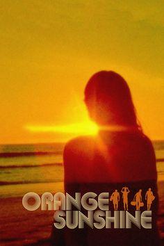 Orange Sunshine Movie Poster - Michael Randall, Carol Randall, Travis Ashbrook  #OrangeSunshine, #MichaelRandall, #CarolRandall, #TravisAshbrook, #WilliamAKirkley, #Documentary, #Art, #Film, #Movie, #Poster