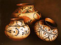 new mexico anasazi ruins | Anasazi pottery