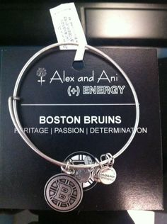 boston bruins alex & ani bracelet | ALEX AND ANI BOSTON BRUI... on Wanelo
