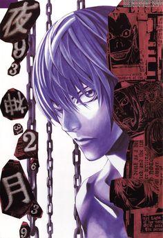 Artbooks » Death Note Blanc Et Noir » Item 9 @ Kisuki.net