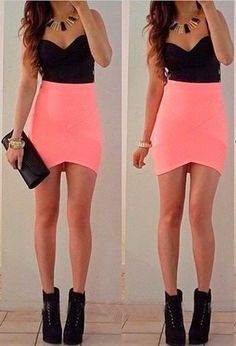 This short dress with Strapless Sleeveless will make you look more slim and a little sexy,you can wear it to enjoy a party or to meet your friends. Material:Cotton Blended Size:S,M,L Color:Pink Neckli