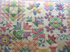 30s Sampler - Love this quilt - wish I knew someone who quilts!