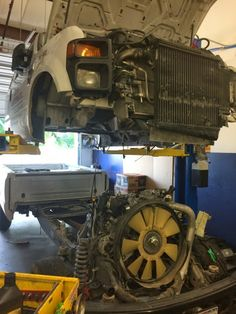 Vehicle maintenance is key so it doesn't end up like this! #autorepair #mckinney