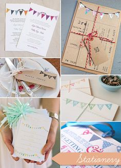 Beautiful Bunting Wedding Ideas – From Outdoors to Motif