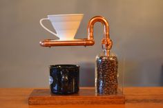 Benutzerdefinierte Kupfer Pour über stehen