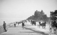 Lake Shore Drive at Lincoln Park 1905