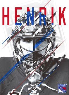Henrik Lundqvist Poster Design on Behance