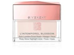 Givenchy L'intemporel Blossom Rosy Glow Highlight-care For Face & Eyes Oz. Lip Contouring, Eye Contour, Givenchy Beauty, Arched Eyebrows, Glow, 20th Century Fashion, Skin Care Cream, Rose, Sculpting