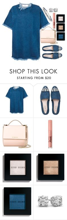 """Untitled #1645"" by mihai-theodora ❤ liked on Polyvore featuring Marques'Almeida, Miu Miu, Givenchy, Too Faced Cosmetics, Bobbi Brown Cosmetics and Humble Chic"